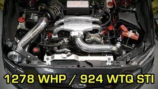 iag performance jr tuned willall racing 1278 hp 2015 sti