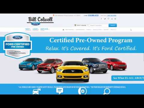 Bill Colwell Ford is a Ford Certified Pre-Owned Dealer!