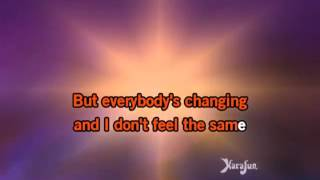 Download Mp3 Keane Everybody's Changing Karaoke