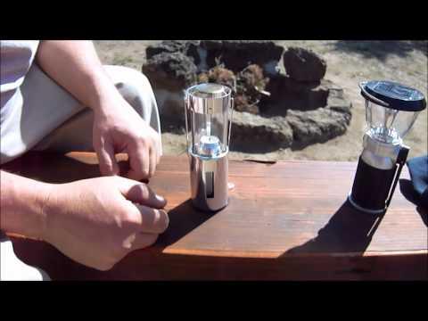 Solar Lantern vs. Candle Lantern