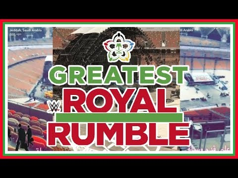 News | WWE Greatest Royal Rumble Leaked Stage Images!!!