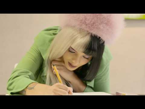 Melanie Martinez charity drawing for NZ Women's Refuge