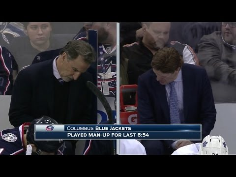 Leafs play short-handed for 7 minutes without a stoppage in play.  3/22/2017 (Leafs vs Blue Jackets)