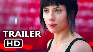 "GHOST IN THE SHELL ""They Stole Your Life"" Tv Spot Trailer (2017) Scarlett Johansson Action Movie HD"
