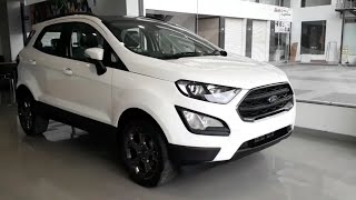 2018 Ford EcoSport S Edition | Diamond White Colour | Exterior and Interior
