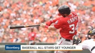 MLB All-Star Game a Showcase for League's Youth Movement