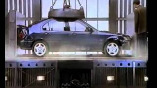 1996 honda civic commercial