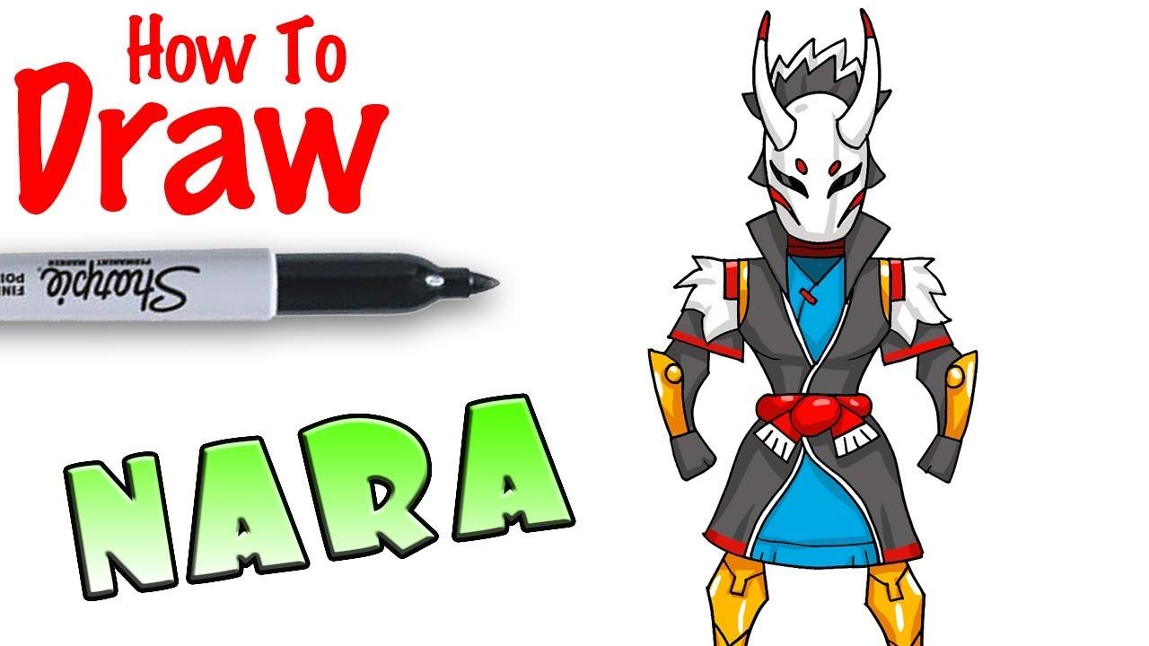 How To Draw Nara Fortnite Youtube
