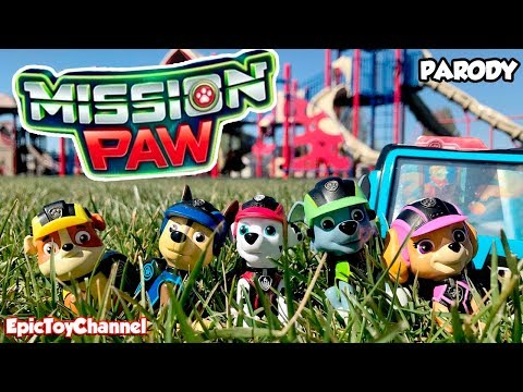 PAW PATROL MISSION PAW Sweetie Surprise Royal Rescue In Real Life + Paw Patrol Mission Paw Pup Pad