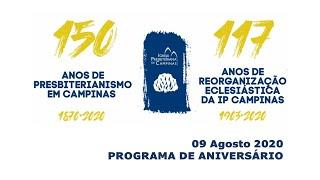 Programa de Aniversário da Igreja Presbiteriana de Campinas