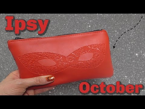 Ipsy Glam Bag Unboxing - October 2018!