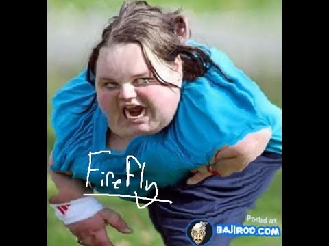 Fat Woman Falls Down 41
