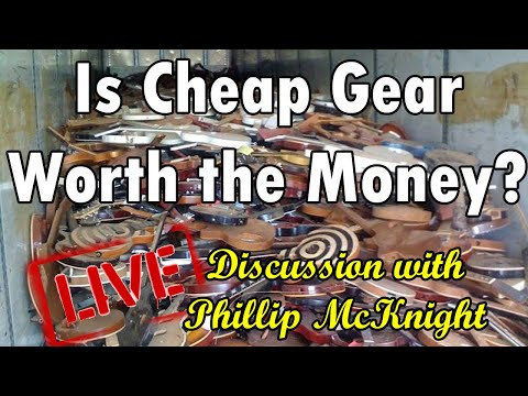 CHEAP GEAR vs EXPENSIVE GEAR -  w Phillip McKnight