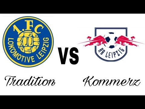 Tradition VS Kommerz | 1. FC Lokomotive Leipzig VS RB Support Vergleich