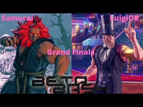 Beta Bash West Coast Grand Finals #3 Samurai(Akuma) V.S. LuigiDB(G) +Winner Interview