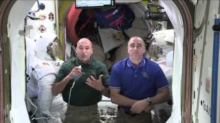 Space Station Crew Talks with Seattle Area Students About Life On-Orbit