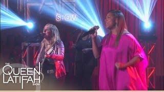"Melissa Etheridge and Queen Latifah Perform ""The Chain"" | The Queen Latifah Show"