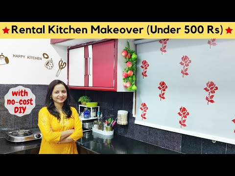 rental-kitchen-makeover-on-a-budget-(under-500-rs)-|-no-cost-diy-for-kitchen-|-urban-rasoi