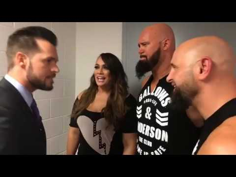 Mike Rome gets angry on Nia Jax, Luke Gallows and Karl Anderson calling him NERD on RAW