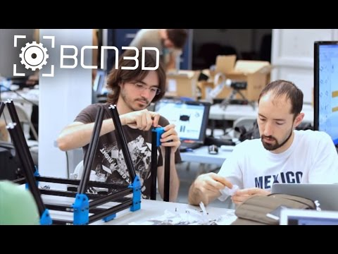 BCN3D Printer Workshop in Barcelona