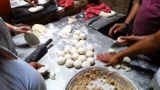 Famous Street Foods of India.Epsd #4 Kulcha Land, Amritsar Video by Chawla's Kitchen(Kulcha Land is a popular AMritsari Food Joint, where world famous Amritsari Kulcha is served more than 3000 times a day. Watch http://youtu.be/MJ67d7n4d4E ..., 2014-08-25T19:09:30.000Z)