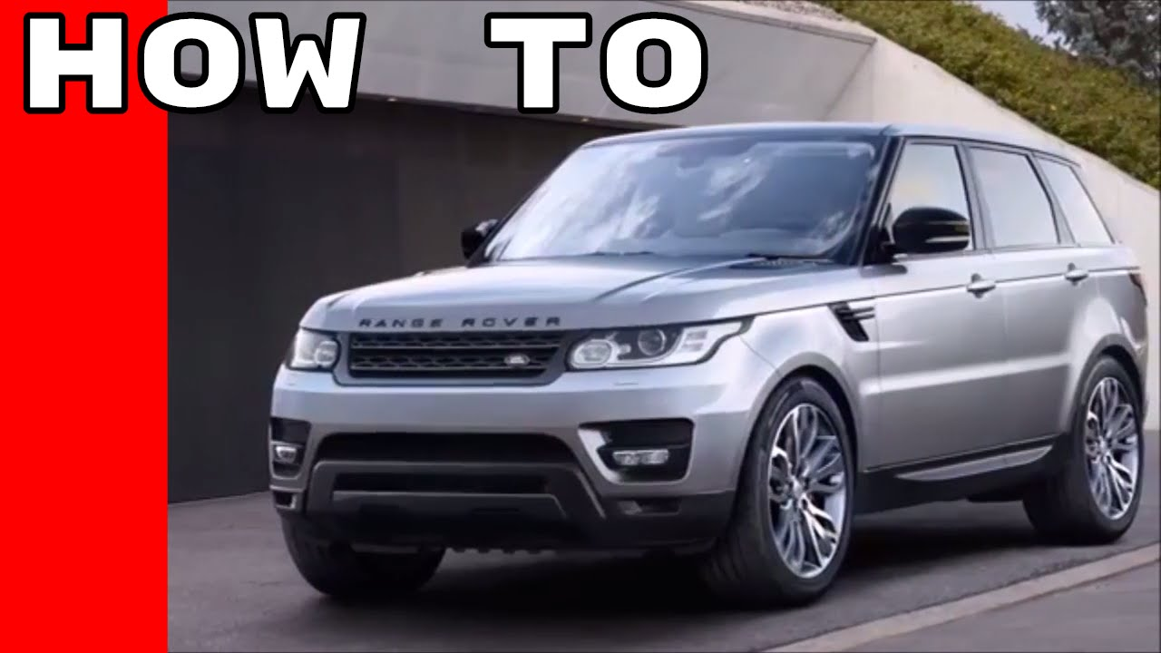 2017 range rover and rr sport features options owners manual youtube rh youtube com 2009 Land Rover Manual 2009 Land Rover Manual