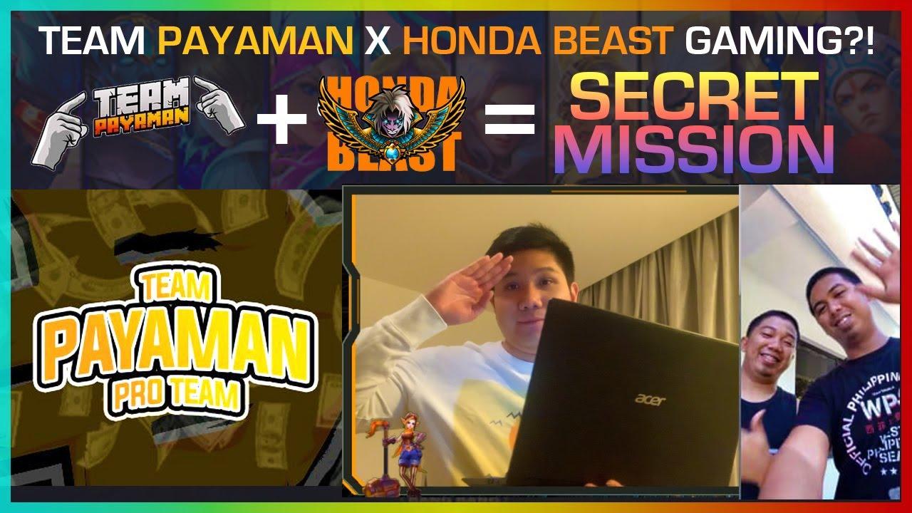 SECRET MISSION: TEAM PAYAMAN X HONDA BEAST! FIRST VLOG EVER!