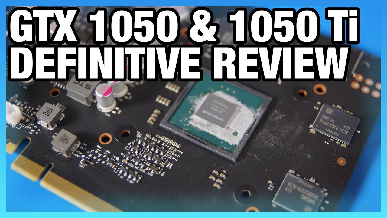 MSI GTX 1050 Ti & 1050 Review & Benchmarks - BF1, GOW4, Overwatch, More
