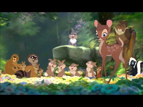 Bambi 2 - Bambi And Faline Kiss [extended Scene]