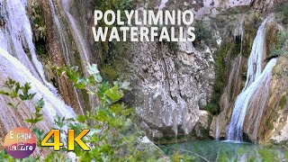Earthly Paradise # 3 hrs relaxing river & forest sounds. Singing birds ambience # 4K video
