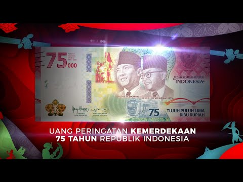 Uang Peringatan Kemerdekaan 75 Tahun Republik Indonesia