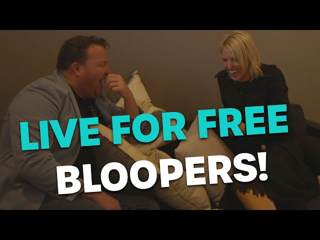 LIVE FOR FREE BLOOPERS | Bec Cosi & Lehmo
