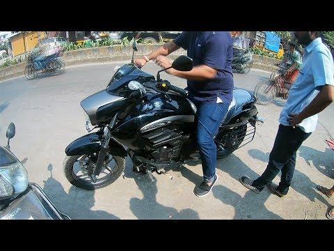 Suzuki INTRUDER 150cc |First Ride |REVIEW |in *HINDI*-*Cruiser Bike in 1 LAKH*