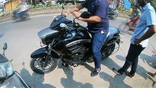 Suzuki INTRUDER 150cc |First Ride |REVIEW |in *HINDI*-*Cruiser Bike in 1 LAKH* thumbnail
