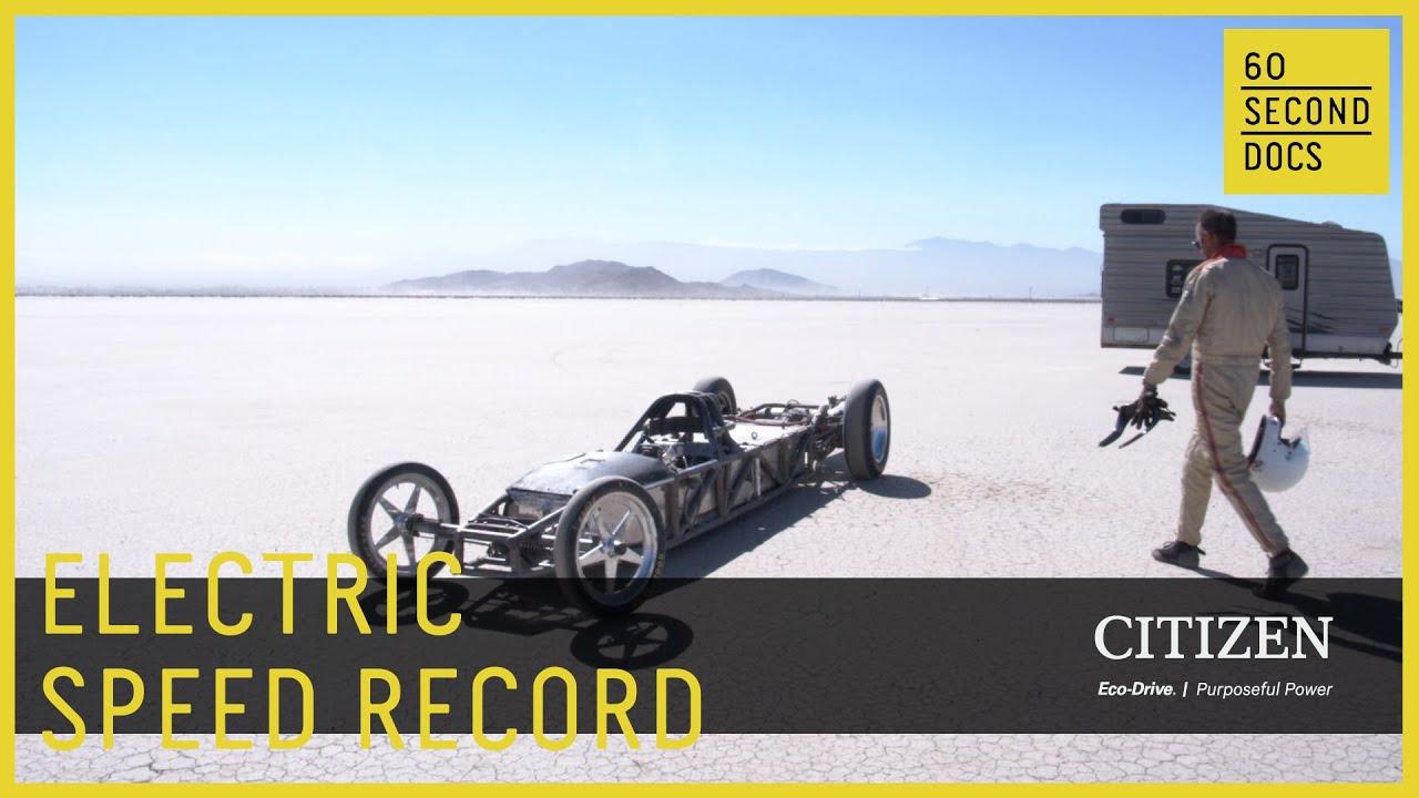 EV West Electric Vehicle Speeds at El Mirage