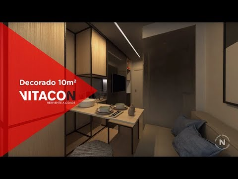 Vitacon - Programa Fala Brasil - Studio 10m²