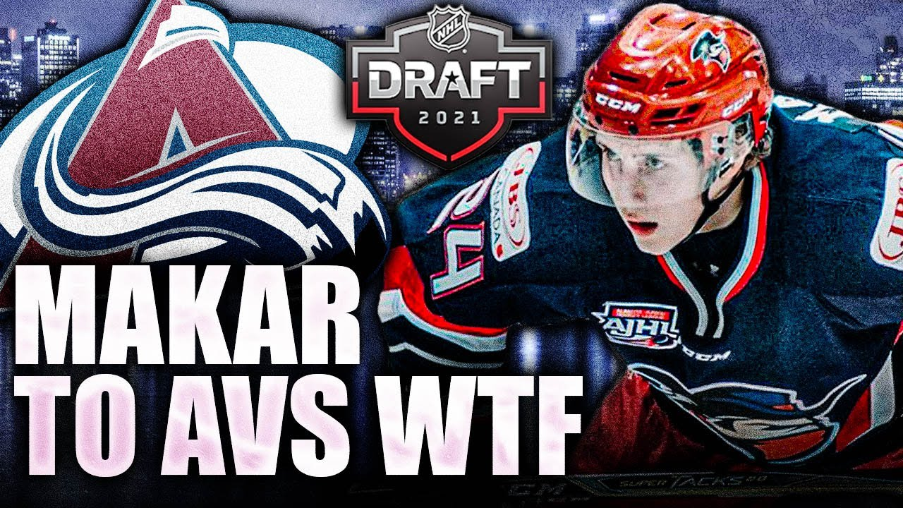 COLORADO AVALANCHE DRAFT CALE MAKAR'S YOUNGER BROTHER TAYLOR MAKAR (2021 NHL Entry Draft Prospects)