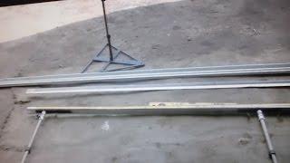 видео Линейка для измерения геометрии кузова и для ремонта автомобиля