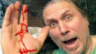 HUGE SNAKE MISTAKES HAND AS FOOD!! OUCH!! | BRIAN BARCZYK