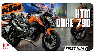 2019 KTM Duke 790 | First Ride