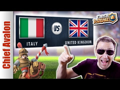 ITALY vs UNITED KINGDOM (UK) ft. Saint Belikin, Deadpool - Clash Royale eSports