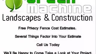 Privacy Fence Cost Killeen Tx (254) 226-2022