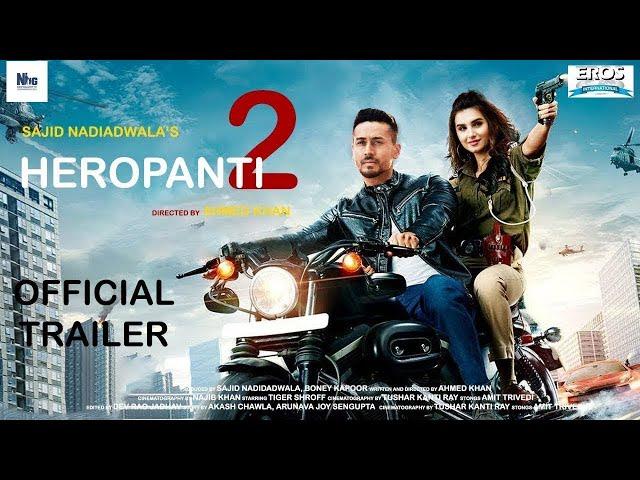 Heropanti 2 Official Trailer | Tiger Shroff | Tara Sutaria|Vidyut Jammwal |Sajid N |Concept Trailer