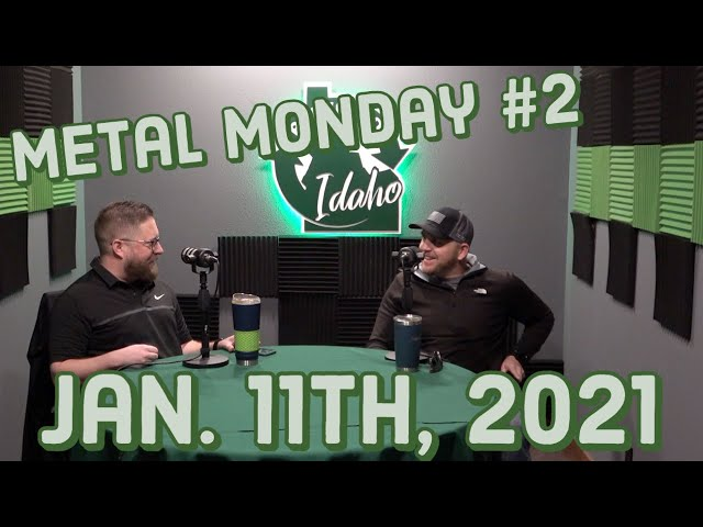 Metal Monday #2 with Nick and Brett, 2021