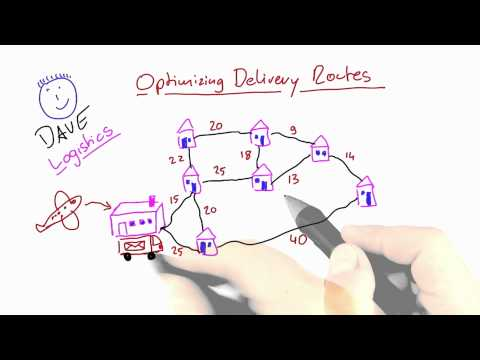 Optimizing Delivery Routes - Intro to Theoretical Computer Science