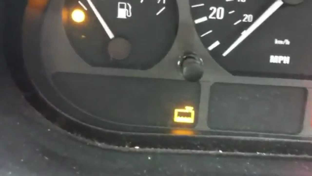 Bmw E46 Coolant Dashboard Light Youtube