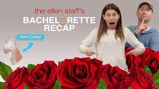 Download The Ellen Staff's 'Bachelorette Recap': Hannah Beast Meets Her Men Mp3 and Videos