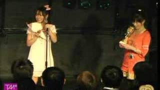 3/29秋葉原スタジオGOODMANで行われた『タンバリンマニア02』より前田希美の「おはスタ卒業トーク」☆一年間お疲れ様でした.