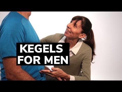 Kegel Exercises For Men - Beginners Pelvic Floor Strengthening Guide
