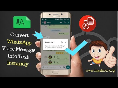 How To Transcribe   Convert WhatsApp Voice Message Into Text   Turn Audio Recording into Text
